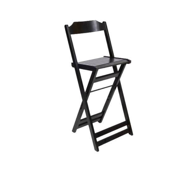 À vista 10% desc (boleto) - Cadeira Bistrô - Imbuia Preto