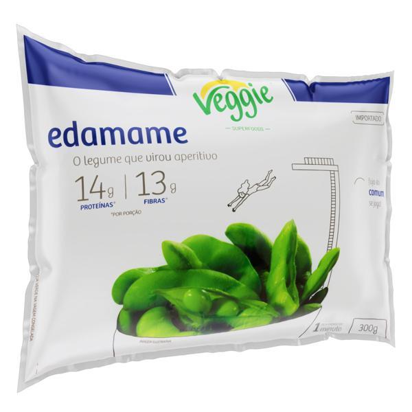 Edamame na Vagem Veggie Pacote 300g