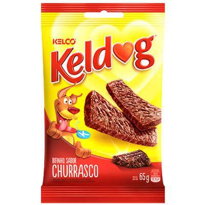 Bifinho para Cães KELCO Keldog Churrasco 65g