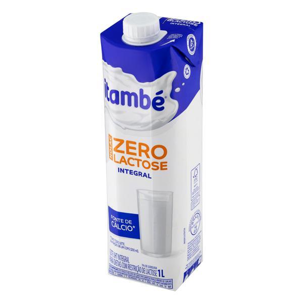 Leite UHT Integral Zero Lactose Itambé Nolac Caixa com Tampa 1l