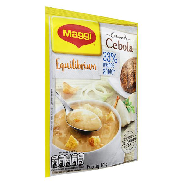 Creme Cebola Maggi Equilibrium Sachê  61g