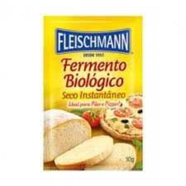 Fermento Biológico FLEISCHMANN Sachê 10g