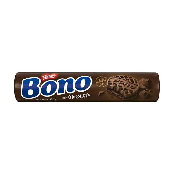 Biscoito Bono Recheado Sabor Chocolate NESTLÉ 126g