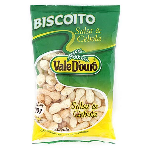 Biscoito Polvilho VALE DOURO de Tapioca Salsa e Cebolinha 100g