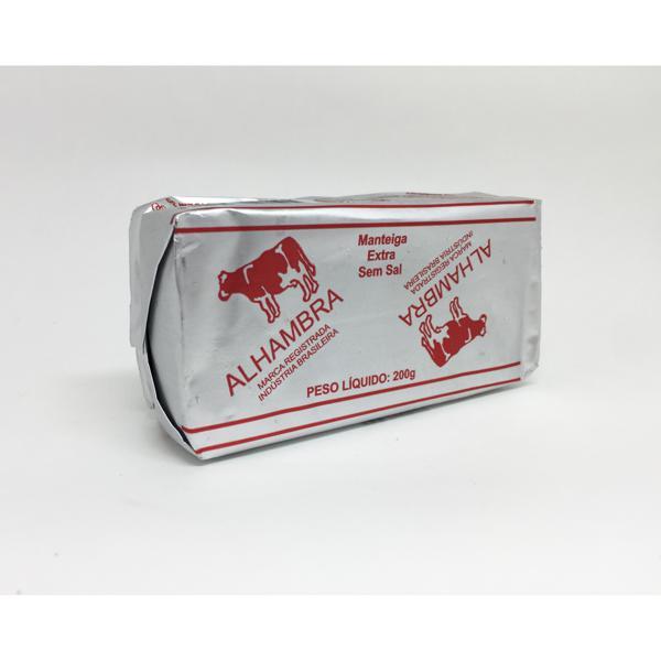 Manteiga ALHAMBRA - Extra Sem Sal - 200g