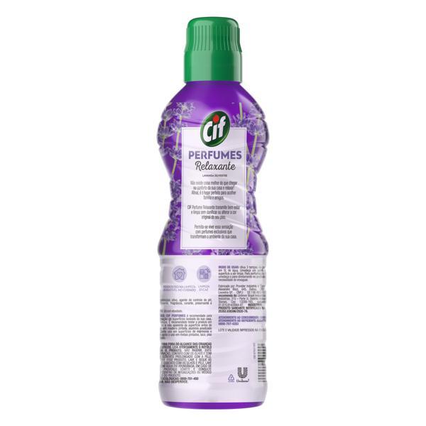 Limpador Uso Geral Relaxante Cif Perfumes Frasco 900ml