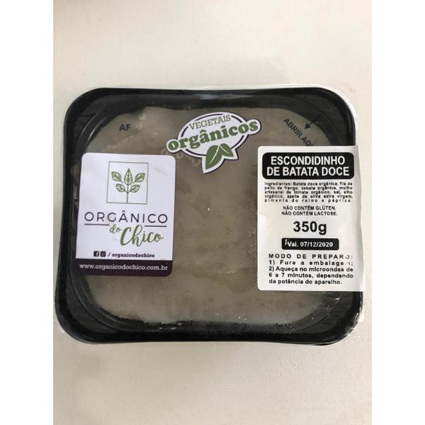 Escondidinho de Batata Doce 350g - Orgânico do Chico