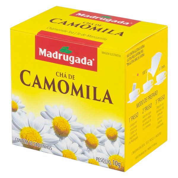 Chá Camomila Madrugada Caixa 10g 10 Unidades