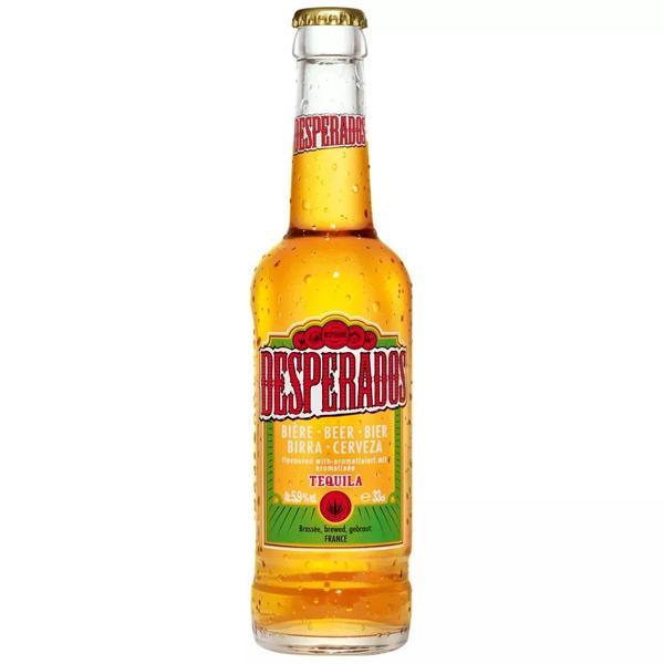 Cerveja Desperados C/Tequila 330Ml Long Neck