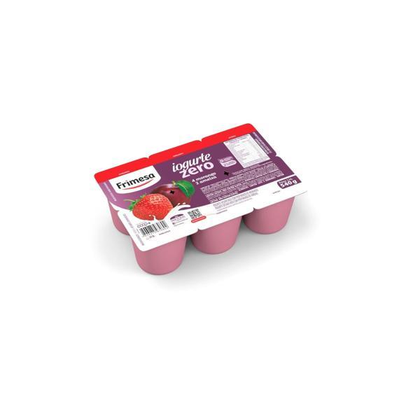 Iogurte Frimesa Zero 540G Ameixa Morango
