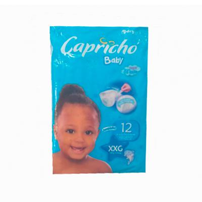 Fralda CAPRICHO Baby Jumbinho XXG 12un