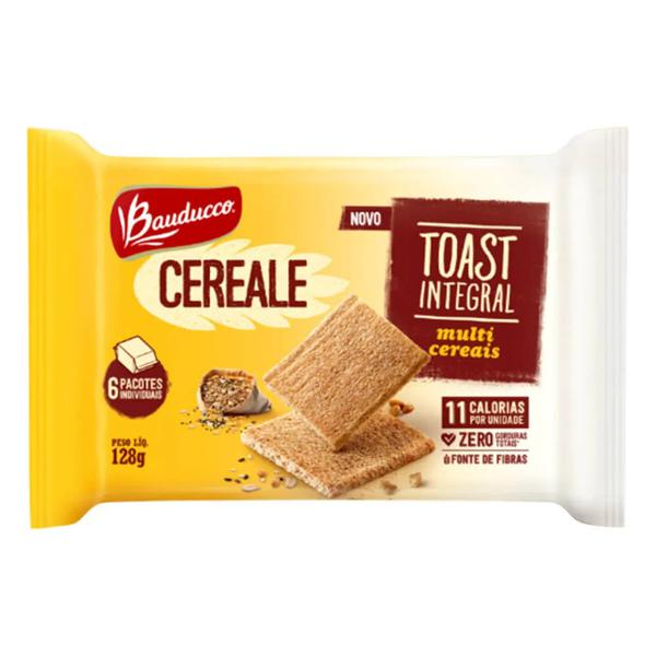 Torrada Tost Integral BAUDUCCO Cereale Multicereais 128g