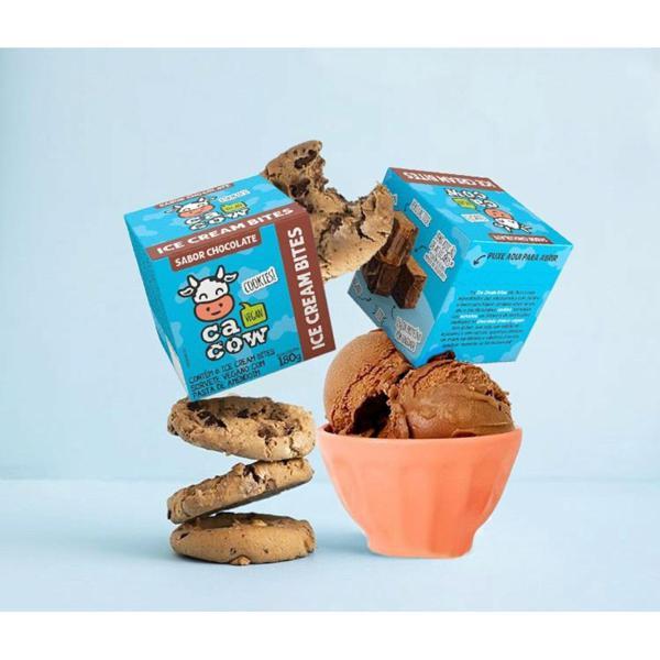 Ice Cream Bites Chocolate 180g - Cacow
