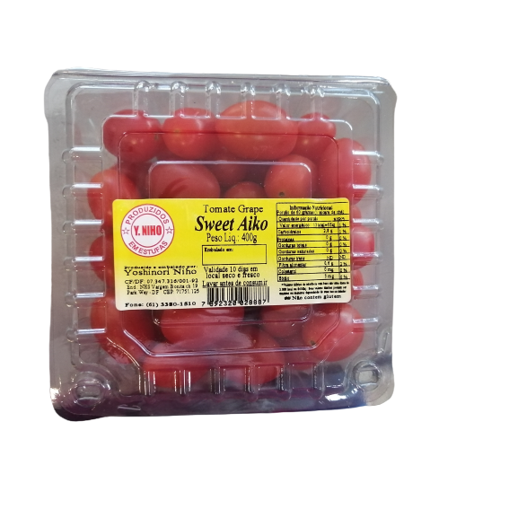 Tomate Cereja Grape sweet aiko 400G Bandeja