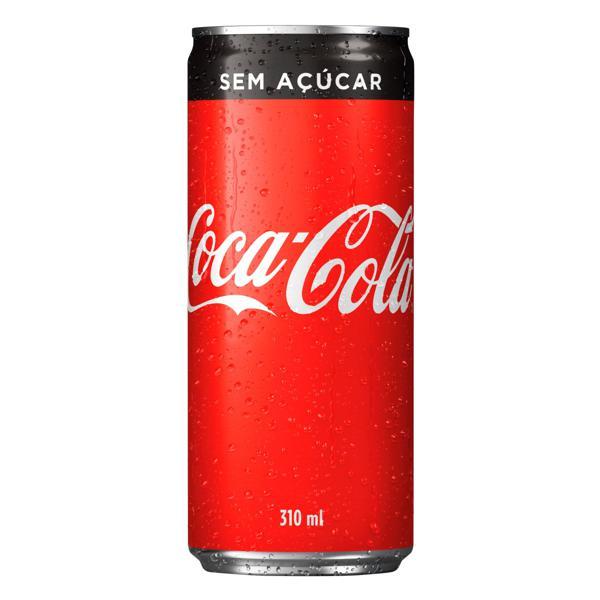 Refrigerante sem Açúcar Coca-Cola Lata 310ml
