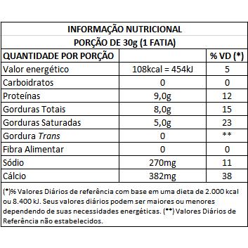 Queijo Parmesão Suaçuí (Peso médio unidade = 500g)