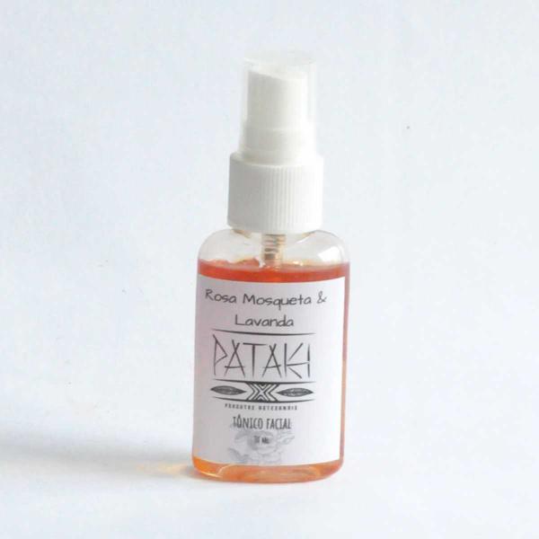 Tônico facial lavanda e rosa mosqueta - Pataki