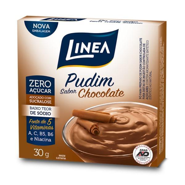 Pudim Zero de Chocolate LINEA 25G