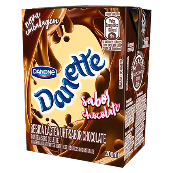Bebida Láctea UHT Chocolate Danette Caixa 200ml