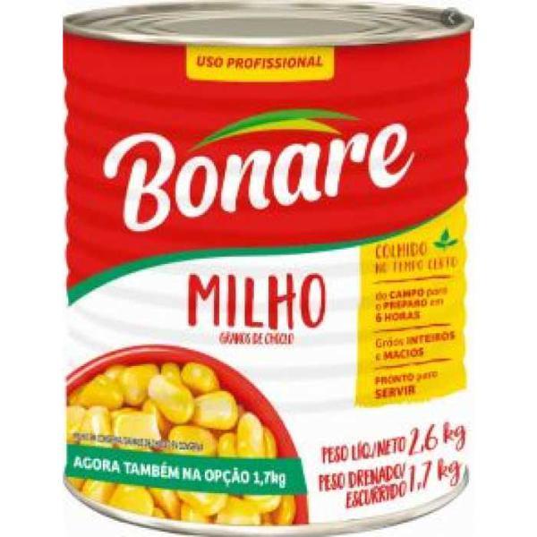 Milho BONARE Lata 1,7Kg