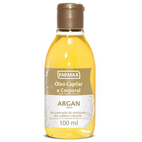 Óleo Capilar FARMAX Argan 100Ml