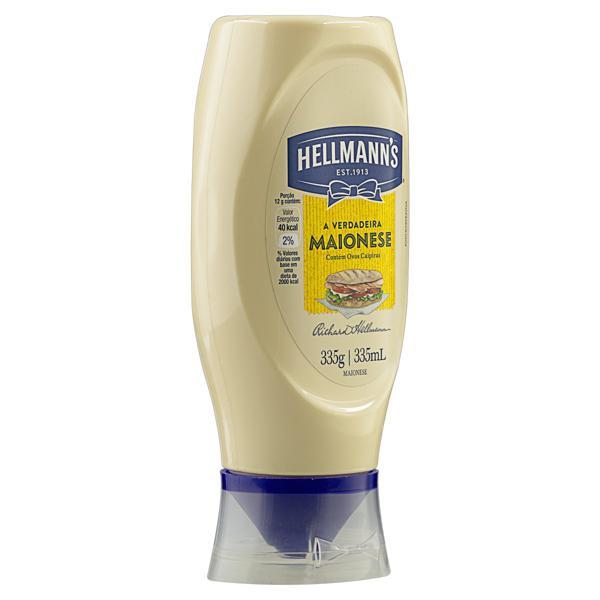 Maionese Hellmann's Squeeze 335g