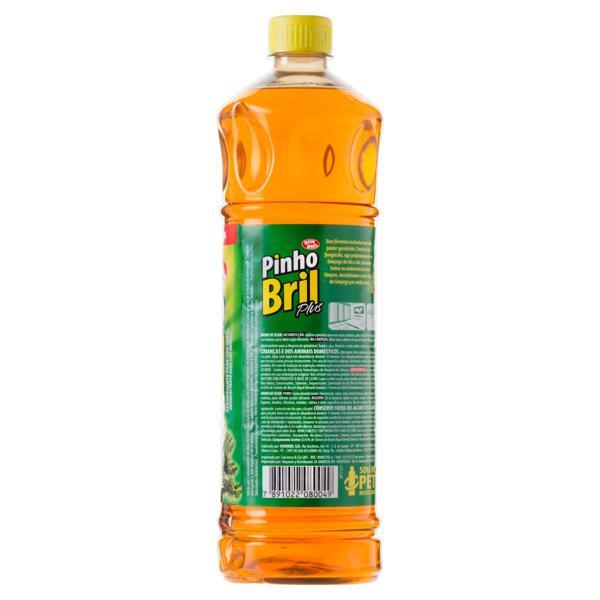 Desinfetante Pinho Bril  Plus Pinho Silvestre 1l