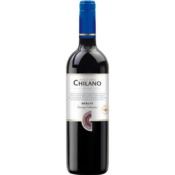 Vinho Chileno CHILANO Merlot 750ml