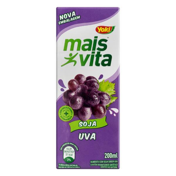 Bebida à Base de Soja Uva Yoki Mais Vita Caixa 200ml