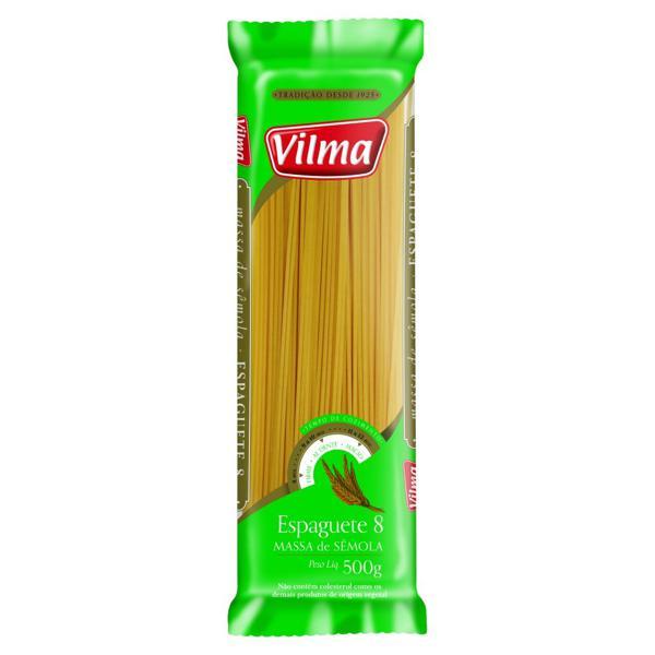 Macarrão VILMA Espaguete Sêmola 1kg