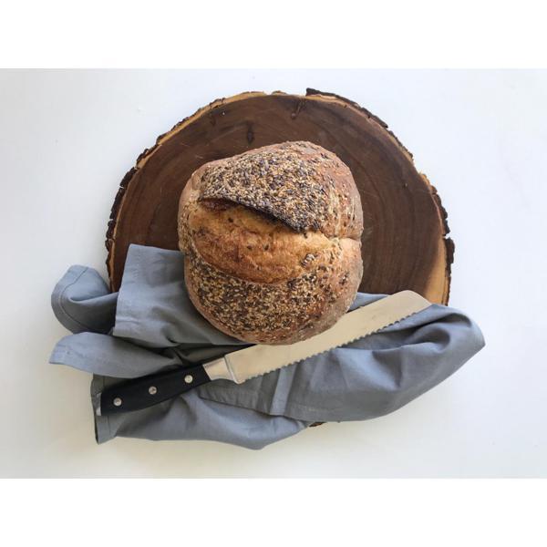 Pão orgânico fermentação natural - Dois Grãos  - 500g