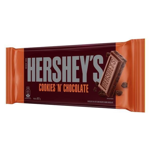 Chocolate ao Leite Cookies 'n' Chocolate Hershey's Pacote 87g
