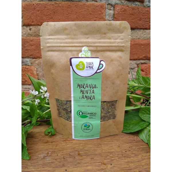 Chá orgânico Morango, Menta & Amora - 15g