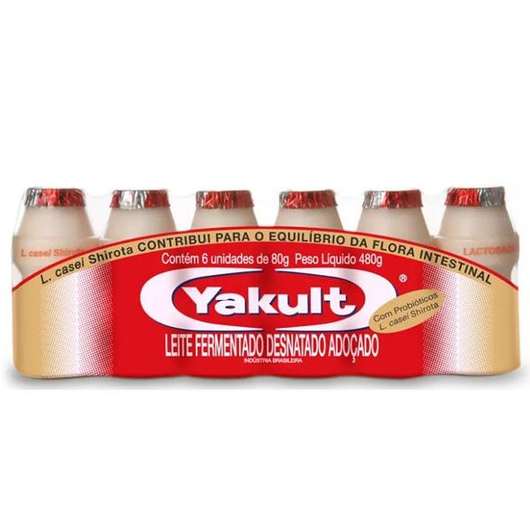 Leite Fermentado YAKULT 480g