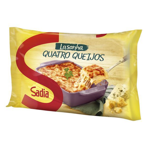 Lasanha Quatro Queijos Sadia Pacote 600g