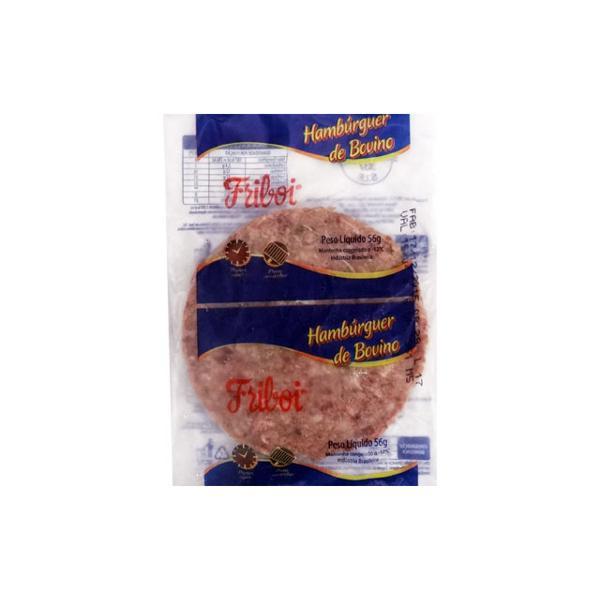 Hambúrguer FRIBOI Carne 56g