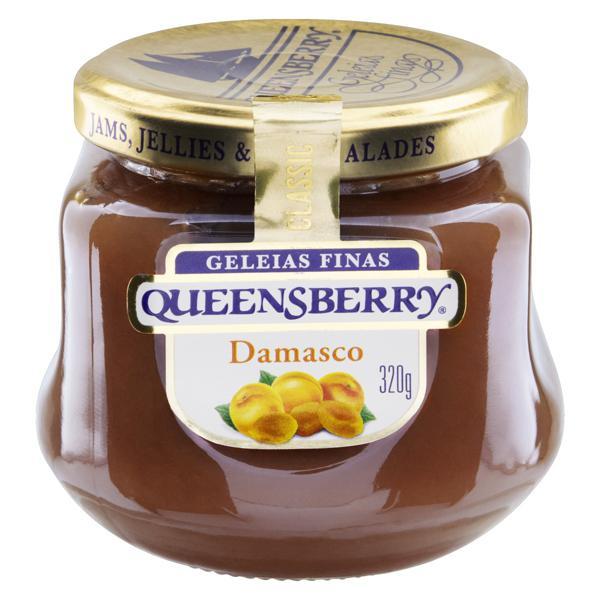 Geleia Damasco Queensberry Classic Vidro 320g