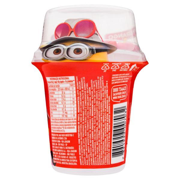 Iogurte Integral Morango com Confeito Meu Malvado Favorito 3 Vigor Mix Pote 165g