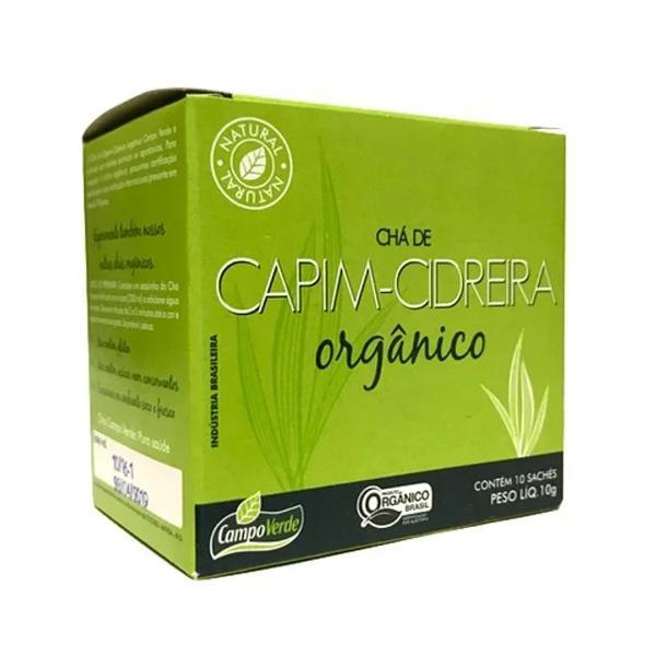 Chá Capim Cidreira Sache Campo Verde 10g