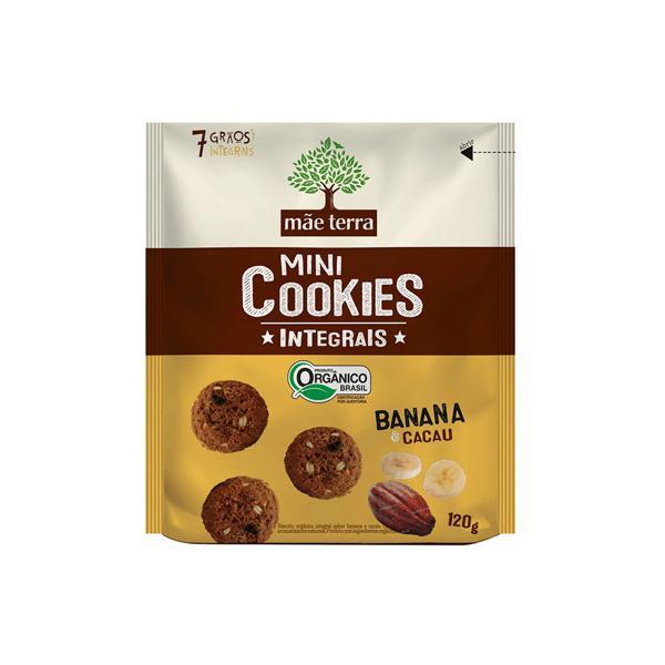 Cookies Orgânico de Banana e Cacau 120g