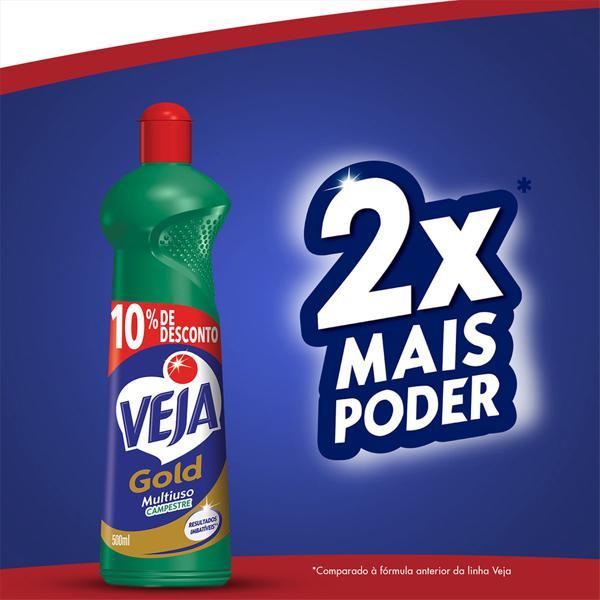 Limpador Multiuso Campestre Veja Gold Squeeze 500ml Grátis 10% de Desconto