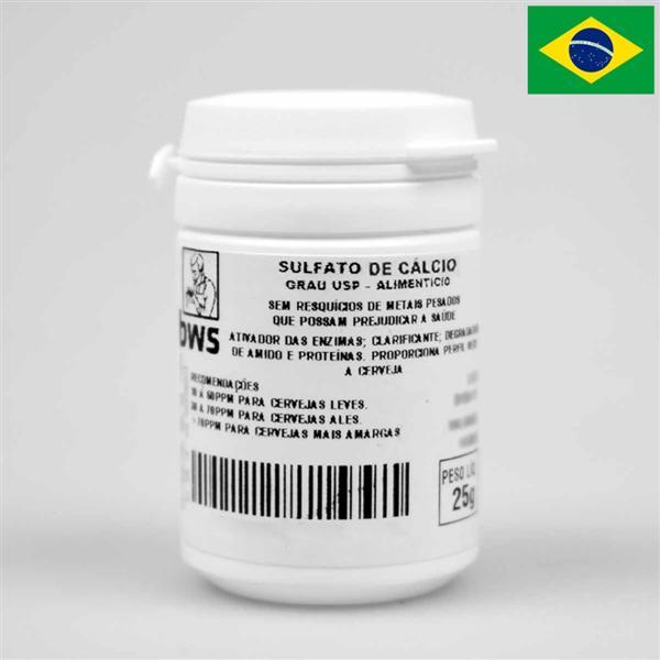 Sulfato de Cálcio U.S.P. 25g