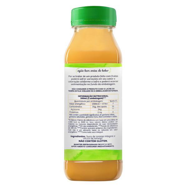 Suco Integral Laranja Natural One Refrigerado Garrafa 300ml