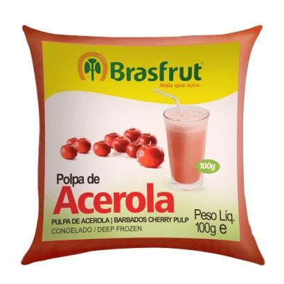 Polpa de Fruta BRASFRUT Acerola 100g