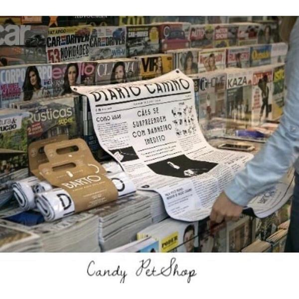 Diário Canino - jornal lavável