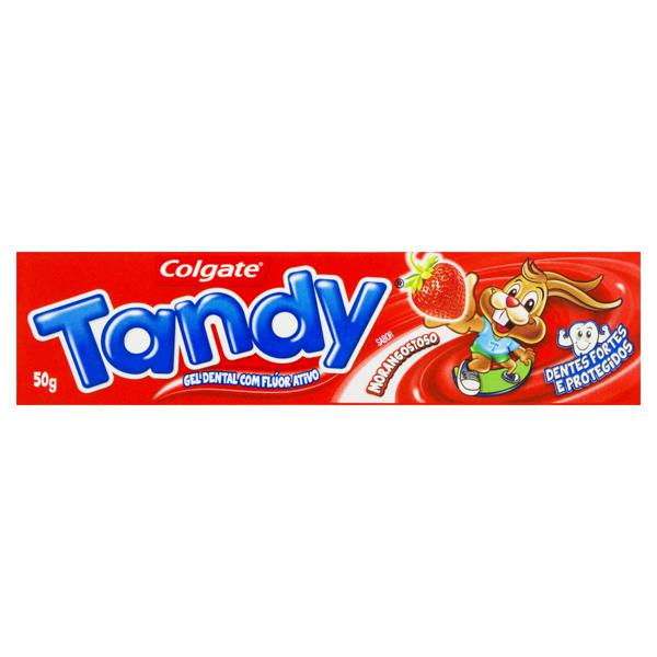 Gel Dental Infantil com Flúor Morangostoso Colgate Tandy 50g
