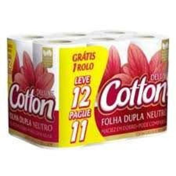 Papel Higiênico COTTON Folha Dupla Leve 12 Pague 11 Unidades