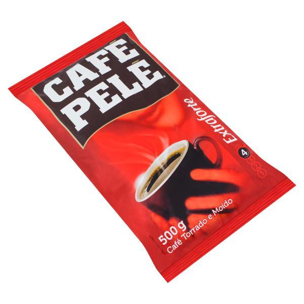 Café Torrado e Moído Extraforte Café Pelé Pacote 500g