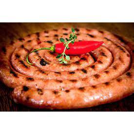 Linguiça artesanal pimenta malagueta 500g - Realeza