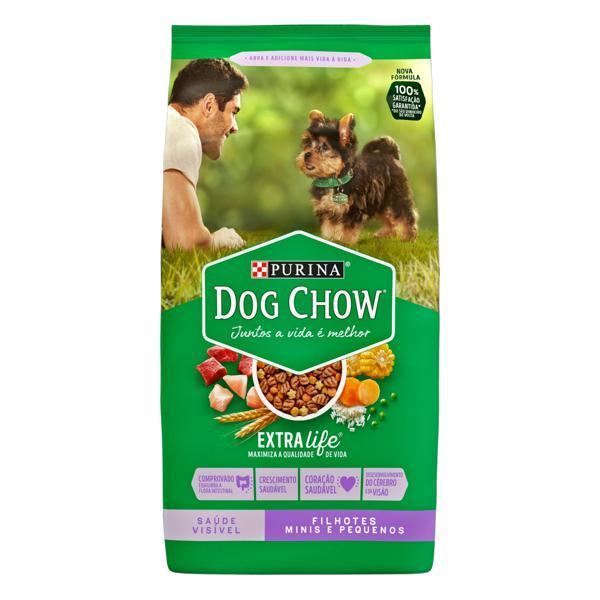 Alimento para Cães Filhotes Raças Minis e Pequenas Purina Dog Chow Extra Life Pacote 1kg